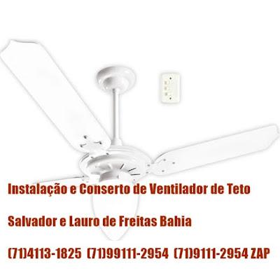 Cuidado Com a instalação do Seu Ventilador de Teto