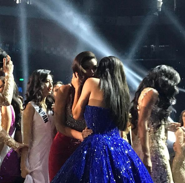 The Queen Comforts The Hopeful: Pia Hugged Maxine After Miss U Coronation Night!