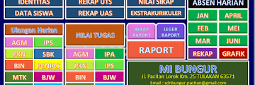 Aplikasi Raport KTSP MI / SD 2016