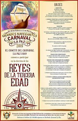 convocatoria carnaval la paz 2019
