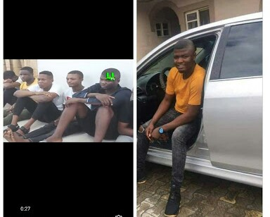 Delta Internet Fraudster 'Solo Pounds' nabbed for Yahoo, Armed Robbery in Ghana