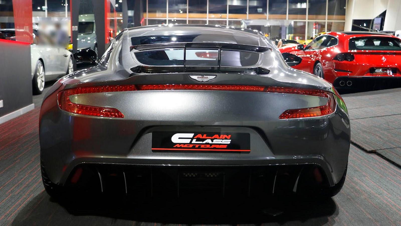 Aston Martin One-77 For Sale >> Ultra Rare Aston Martin One-77 Q-Series For Sale In Dubai ...