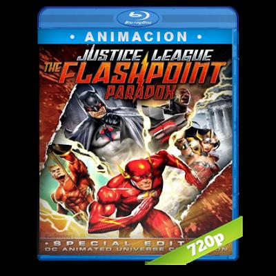 Liga De La Justicia Paradoja Del Tiempo (2013) BRRip 720p Audio Dual Latino-Ingles 5.1