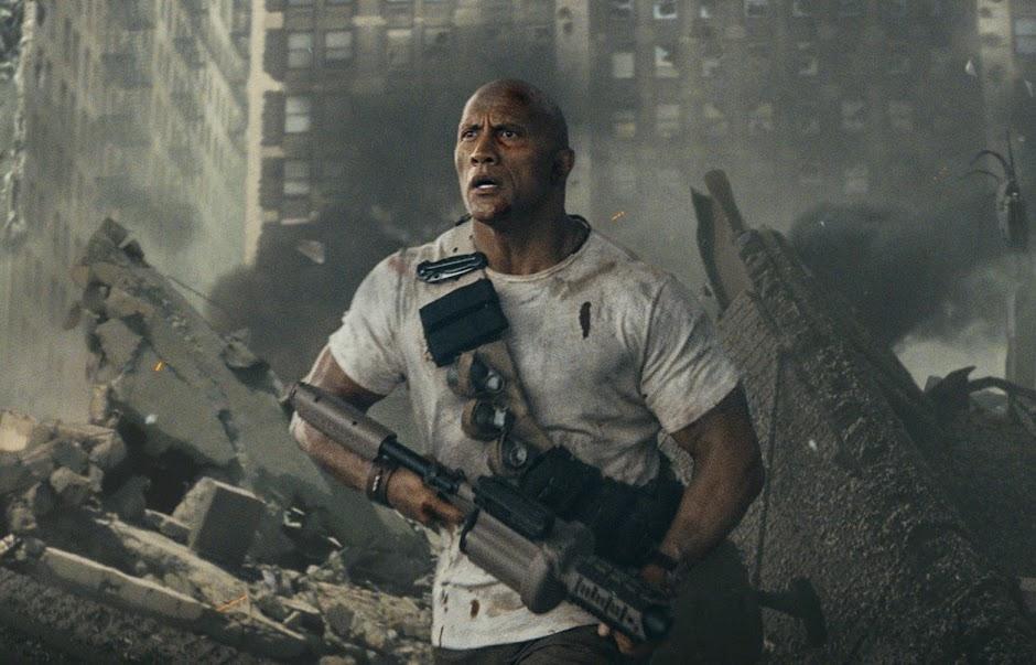 """Trailer inédito de """"Rampage: Destruição Total"""" desencadeia o caos nas ruas"""