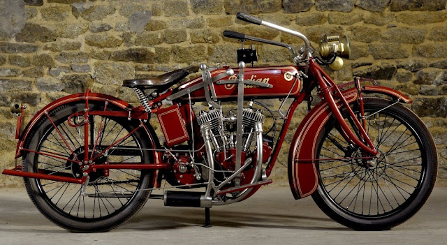 Indian Powerplus American vintage motorcycle
