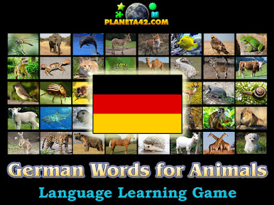 German Words for Animals