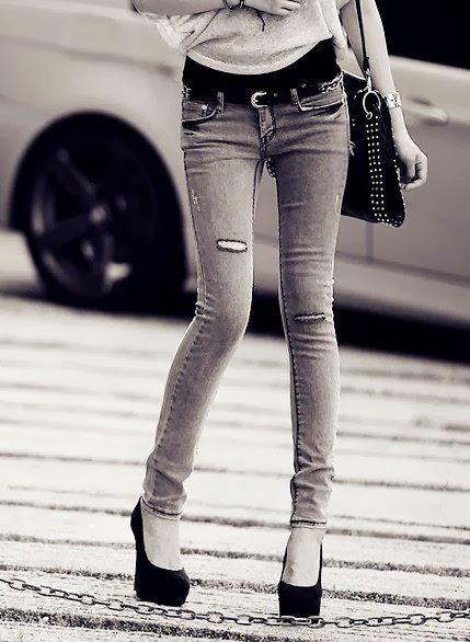 Thinspiration & Fitspiration: Skinny Jean Thinspiration