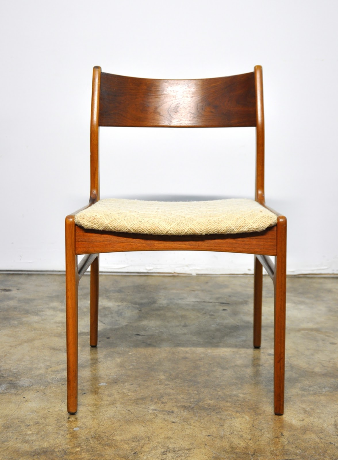 Danish Modern Dining Chair Top Rated Office Chairs Select Set Of 6 Teak