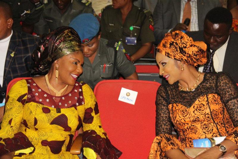 Photos: Bianca Ojukwu and Ebelechukwu Obiano at Handwashing Day commemoration