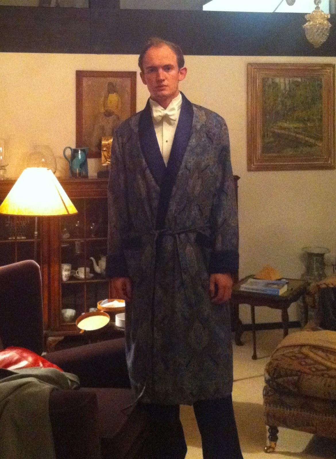 Silk Dressing Gown Mens - Home Decorating Ideas & Interior Design