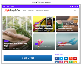 Flexblog Blogger Templates Free Download