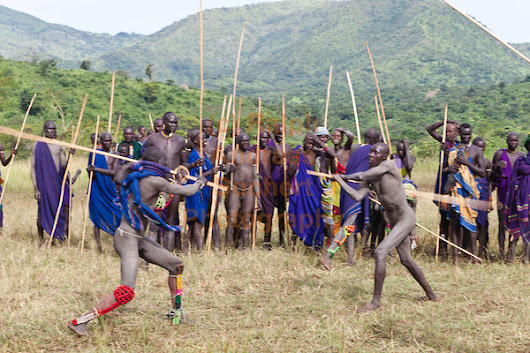 Nguni Stick Fighting (South Africa)