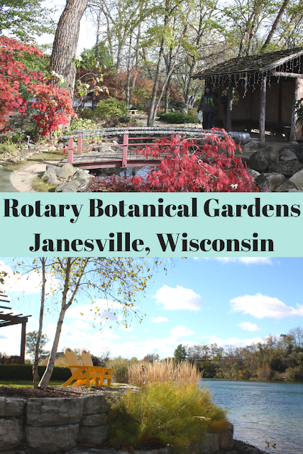Admiring Nature in Fall at Rotary Botanical Gardens in Janesville, Wisconsin