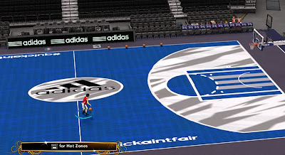 NBA 2K13 Adidas #QuickAintFair Court
