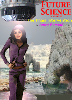 "Book cover: ""The Phasi Intervention"" by Ivory Fersoni"