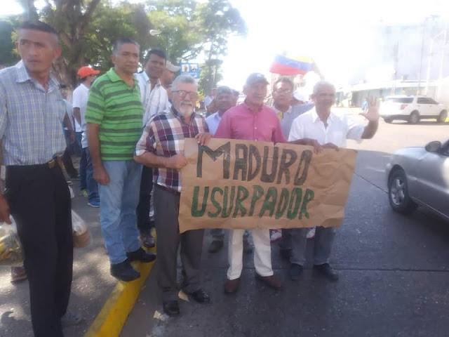 Opositores apureños rechazaron juramentación de  Maduro.
