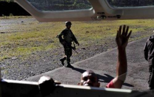 Penjagaan Kopassus di Papua