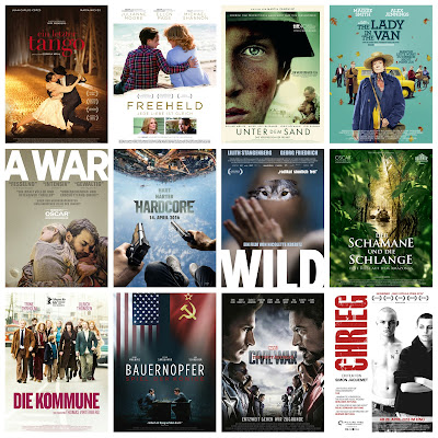 der cineast Filmblog Kinovorschau April 2016