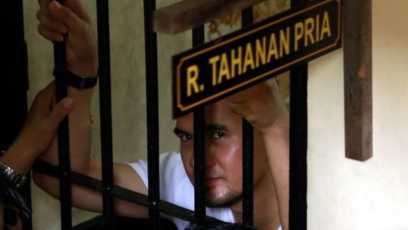 Saipul Jamil di ruang tahanan