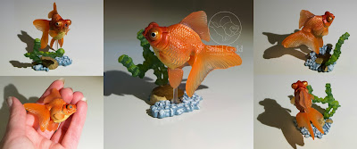 Yujin Goldfish Gashapon Collection – Solid Gold Aquatics