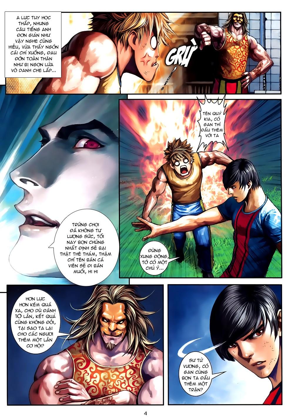 Quyền Đạo chapter 10 trang 4