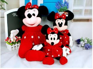 Gambar boneka Mickey dan Minnie Mouse berpasangan 13
