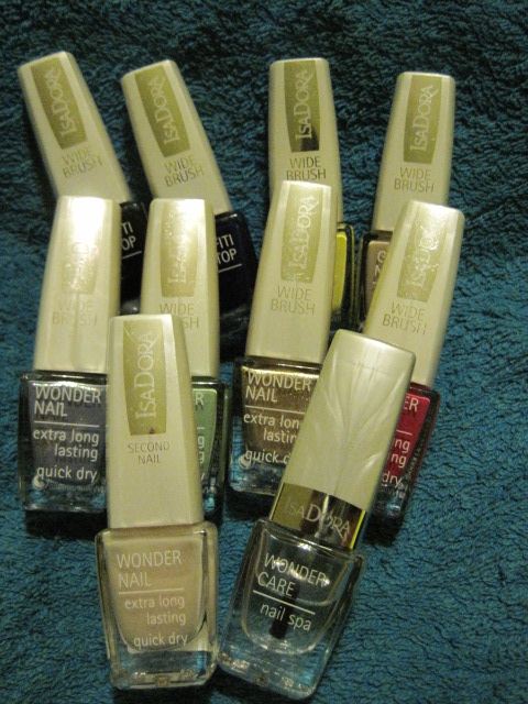 wonder nail, Isadora wonder nail