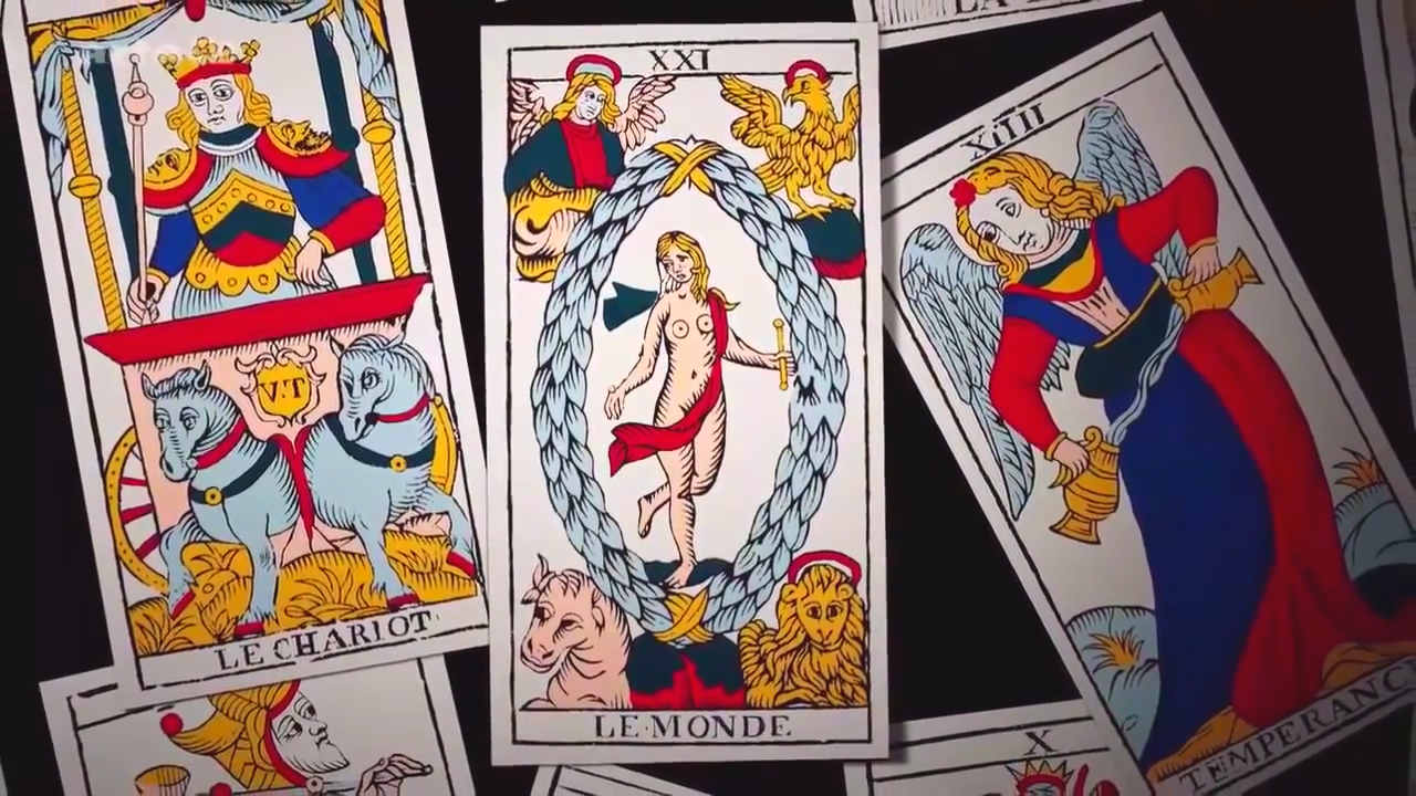 Quelques cartes du tarot de Marseille