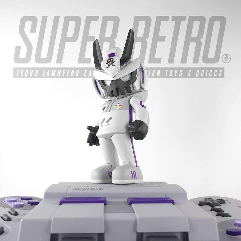 NES Retro Destroyer TEQ63 by Quiccs x Martian Toys x IamRetro Exclusive