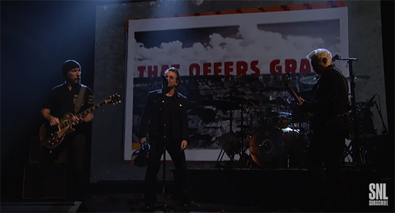 "U2 on SNL - ""American Soul"" and ""Get Out Of Your Own Way"" - Timeless Music But Not In a Good Way"