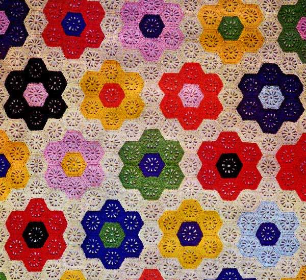Crochet For Free Flower Garden Afghan