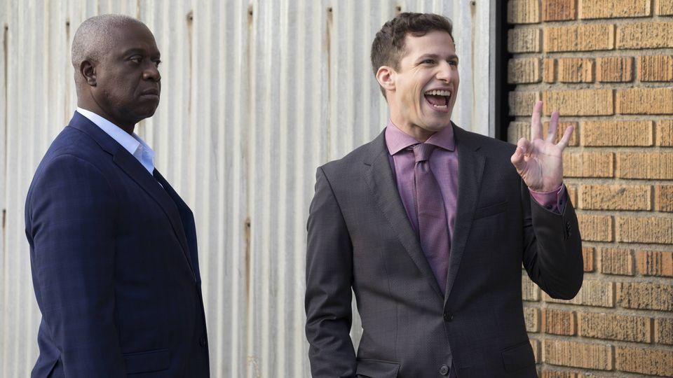 El capitán Holt y Jake han sido el dúo cómico de la temporada.