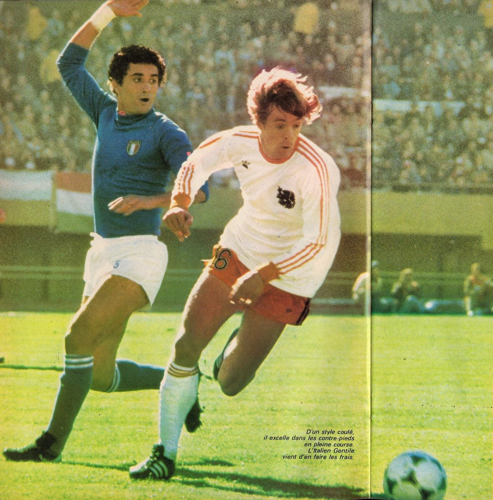 Resultado de imagem para italie x hollande 1978