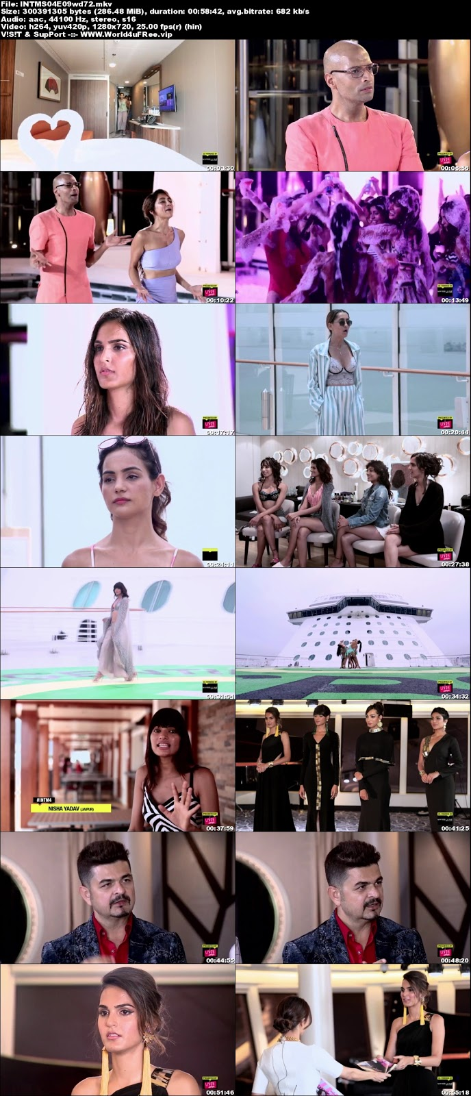 India's Next Top Model S04 Episode 09 720p WEBRip 200Mb world4ufree.vip tv show India's Next Top Model S04 2018 hindi MTV tv show compressed small size free download or watch online at world4ufree.vip