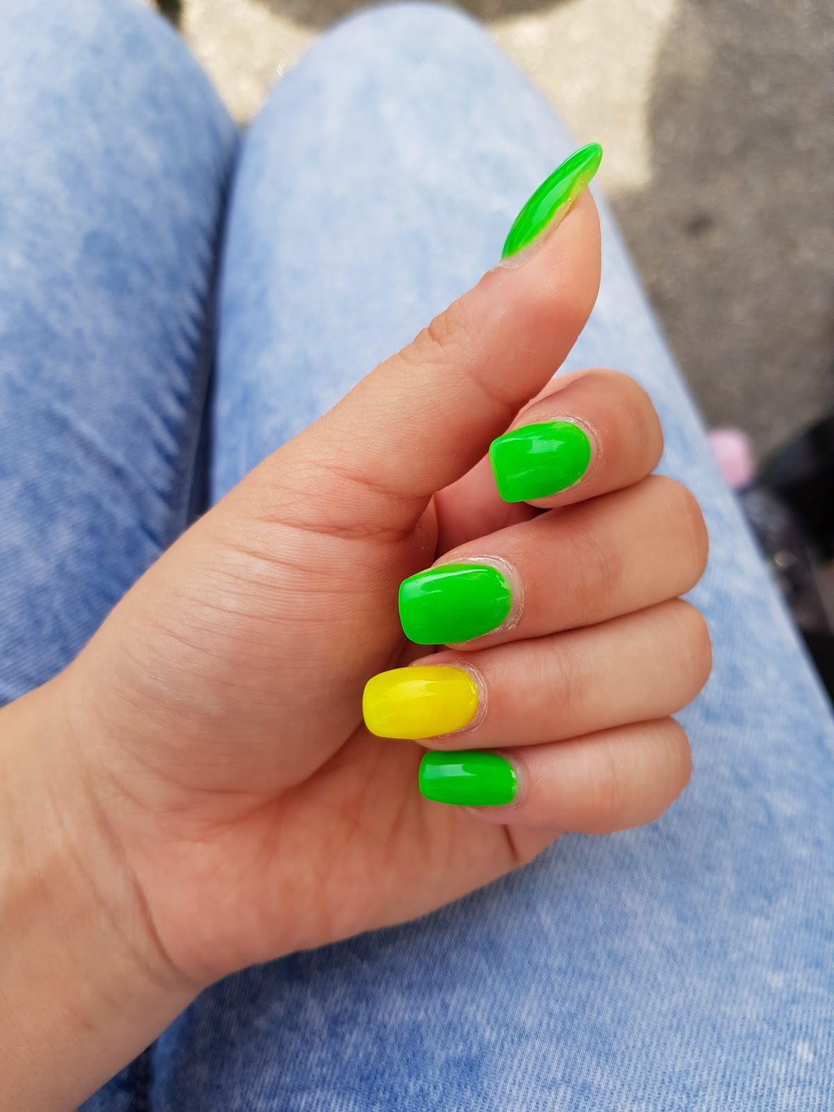 Coole Gelnägel Beauty Fashion Lifestyle Neue Gelnägel Neonails
