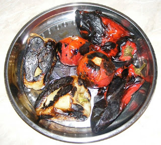 ardei copti, rosii coapte, retete cu legume, preparate din legume, retete culinare, retete,