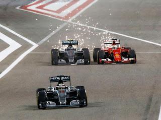 Hasil Lengkap Kualifikasi F1 GP Bahrain
