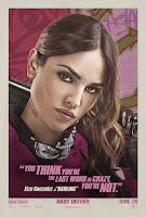 Baby Driver Poster Eiza Gonzalez