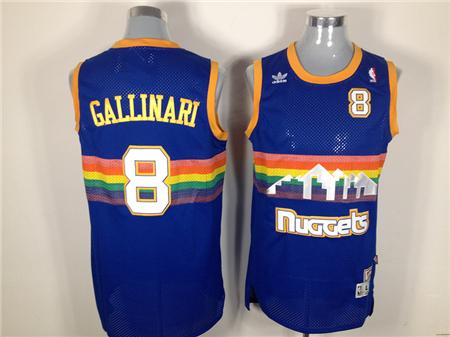 Denver Nuggets  8 Gallinari nba jerseys e0db5e6fe
