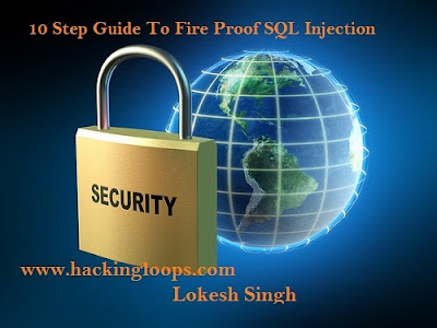 Stop SQL injection, prevent SQL injection