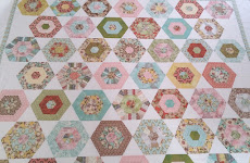 Curio Hexagon Jelly Roll Quilt Tutorial