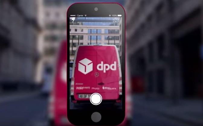 手機登錄免列印,德國DPD推出行動包裹標籤