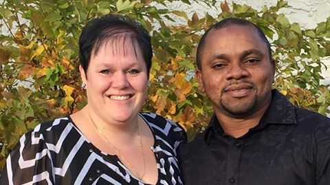 Nigerian man and his Canadian wife arrested for trafficking 9 Africans .