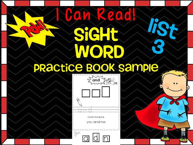https://www.teacherspayteachers.com/Product/Sight-Word-Dolch-Practice-Book-Sample-Free-1442407