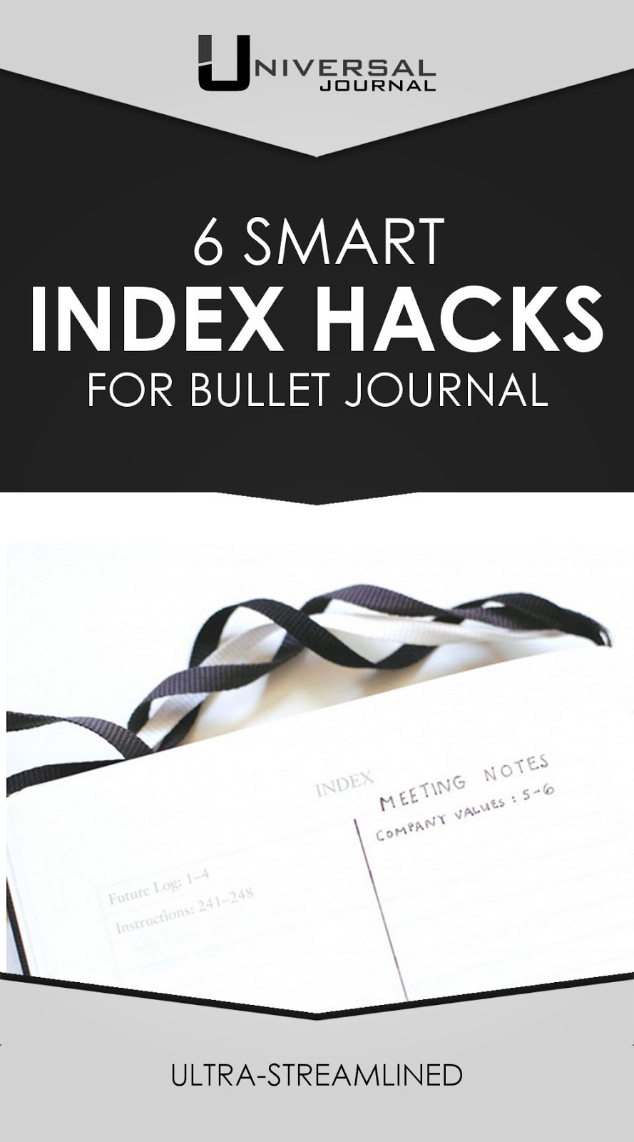 6 smart index hacks for bullet journal