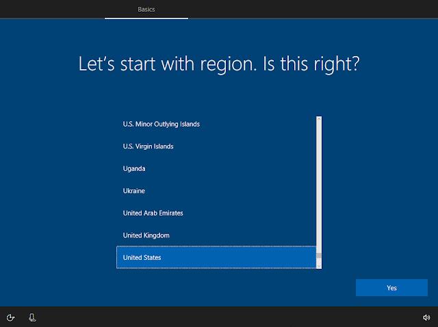 Windows 10 Version 1703 thay đổi thiết lập tài khoản mới tại màn hình OOBE có Cortana hỗ trợ