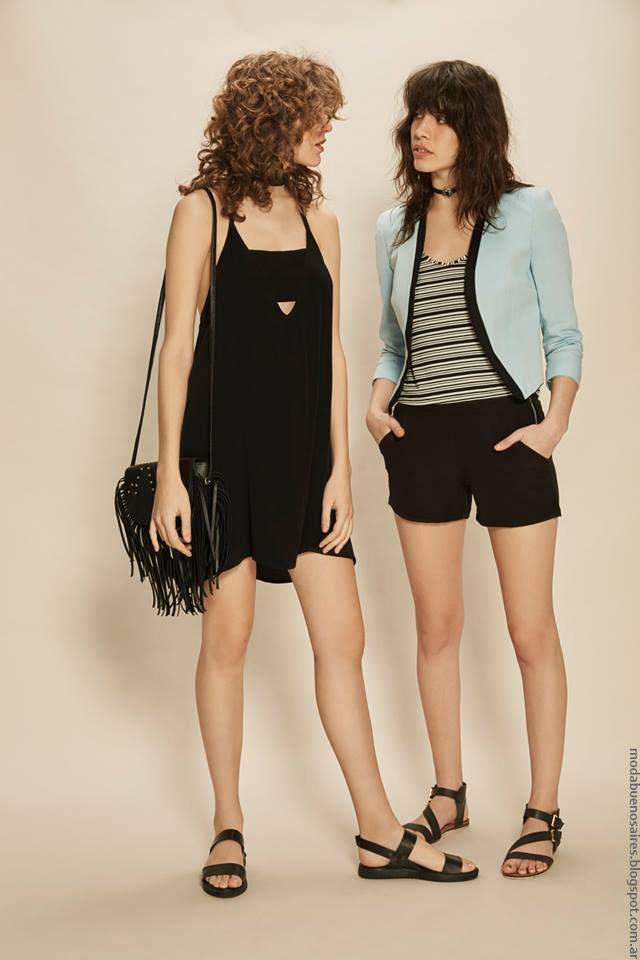 Ropa de moda mujer verano 2017. Moda colección Inversa ropa de moda 2017.