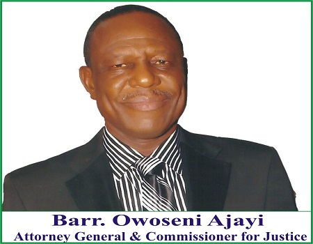 Governor Fayose's former Attorney-General and Commissioner for Justice, Owoseni Ajayi dumps PDP for APC.