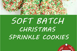 SOFT BATCH CHRISTMAS SPRINKLE COOKIES