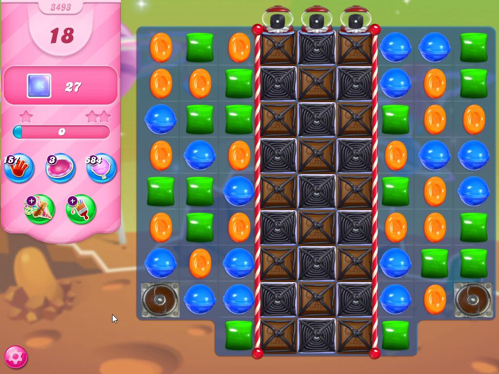 Candy Crush Saga level 3493